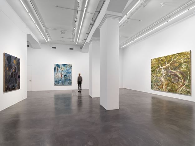 Exhibition view:Zhang Enli, New Paintings, Hauser & Wirth, Zürich (17 January–29 February 2020).©Zhang Enli. Courtesy the artist and Hauser & Wirth.