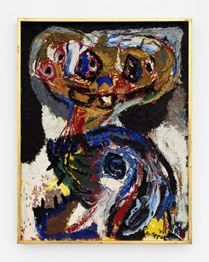 Twee Figuren by Karel Appel contemporary artwork