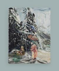 Farewell 1 by Qiu Xiaofei contemporary artwork painting