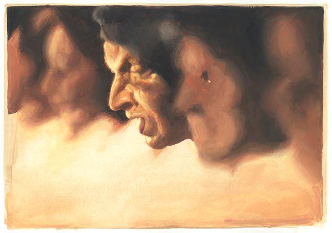 Untitled (prayers) by Jan De Maesschalck contemporary artwork