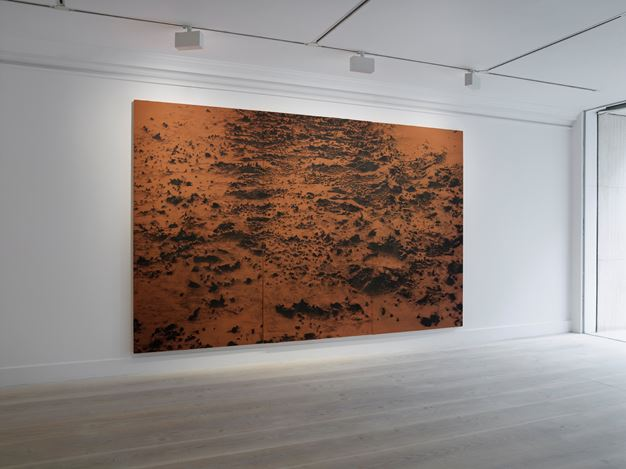 Exhibition view: Saad Qureshi, time | memory | landscape, Gazelli Art House, London (3 March – 16 April 2017). Courtesy Gazelli Art House and the artist.