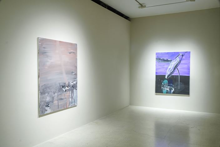 Exhibition view: Hoon Kwak, Halaayt: Passages Of Transcendence, Pearl Lam Galleries, Hong Kong (27 September–8 November 2019). Courtesy Pearl Lam Galleries.