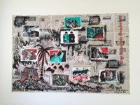 Burning Story 燃烧的故事 by Sun Xun contemporary artwork mixed media