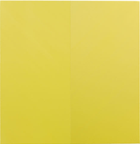 The Confident Yellow No 2 by Xie Molin contemporary artwork painting