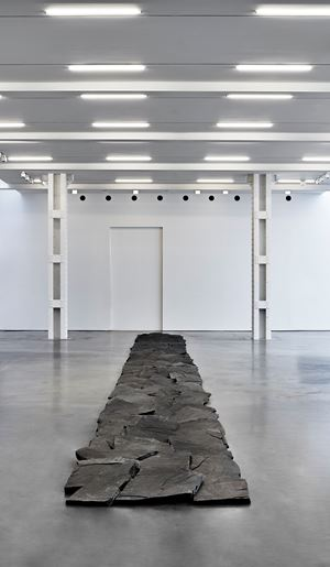 Virginia Line by Richard Long contemporary artwork