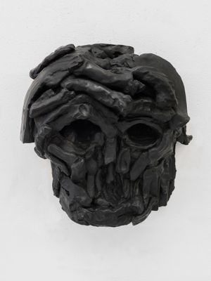 Skull Mask I by Thomas Houseago contemporary artwork sculpture