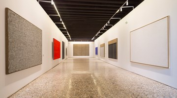 Contemporary art exhibition, The Collateral Event of the 56th International Art Exhibition - la Biennale di Venezia, Dansaekhwa at Kukje Gallery, Seoul, South Korea