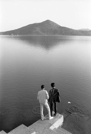 Towards an Indian Gay Image, Lake Pichola, Udaipur by Sunil Gupta contemporary artwork