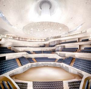 Elbphilharmonie Hamburg Herzog & de Meuron Hamburg II 2016 by Candida Höfer contemporary artwork