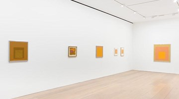 Contemporary art exhibition, Josef Albers, Sunny Side Up at David Zwirner, London