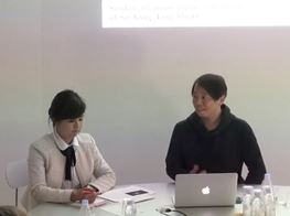 LEE Kit ×Mami KATAOKA Gallery Talk, ShugoArts, 2017