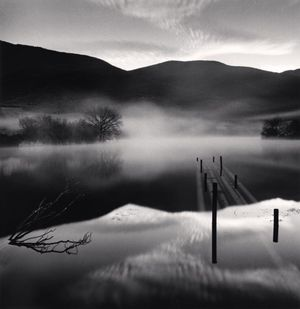 Capodacqua Lake by Michael Kenna contemporary artwork