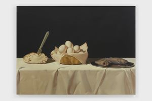 Buffet by Anna Weyant contemporary artwork
