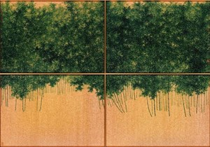 Verdant Bamboo Grove by Koon Wai Bong contemporary artwork