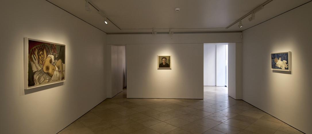 Exhibition view: Alice Neel,Uptown, Victoria Miro, Venice (15 July–16 September 2017). © The Estate of Alice Neel. Courtesy the artist and Victoria Miro, Venice.
