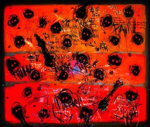 Raging Ladybugs by Takashi Hara contemporary artwork