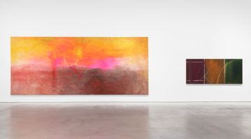 Contemporary art exhibition, Frank Bowling, Frank Bowling – London / New York at Hauser & Wirth, 22nd Street, New York, USA