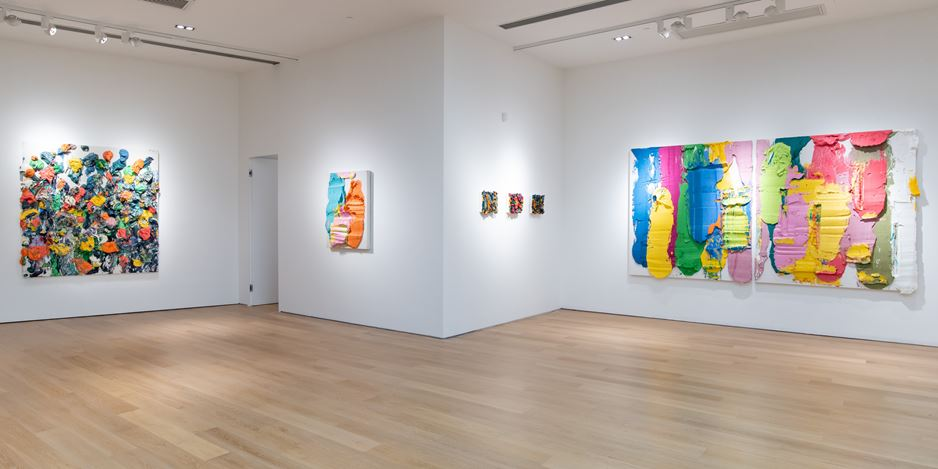 Exhibition view: Zhu Jinshi, Li Bai's Snow, Tang Contemporary Art, Hong Kong (25 November–31 December 2020). Courtesy Tang Contemporary Art.