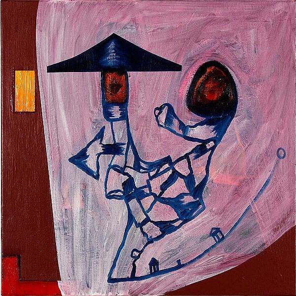 Chinese Dada by Gareth Sansom contemporary artwork