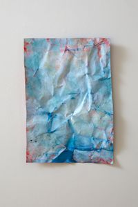 blue by Christine Reifenberger contemporary artwork painting