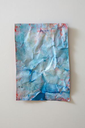 blue by Christine Reifenberger contemporary artwork