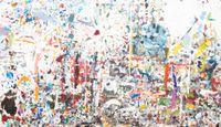 Desktop Painting by Jake Walker contemporary artwork painting