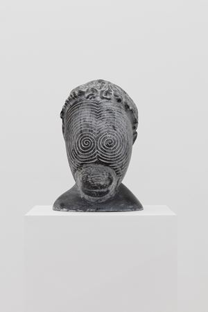 Untitled (Curly-Haired) by Yang Maoyuan contemporary artwork