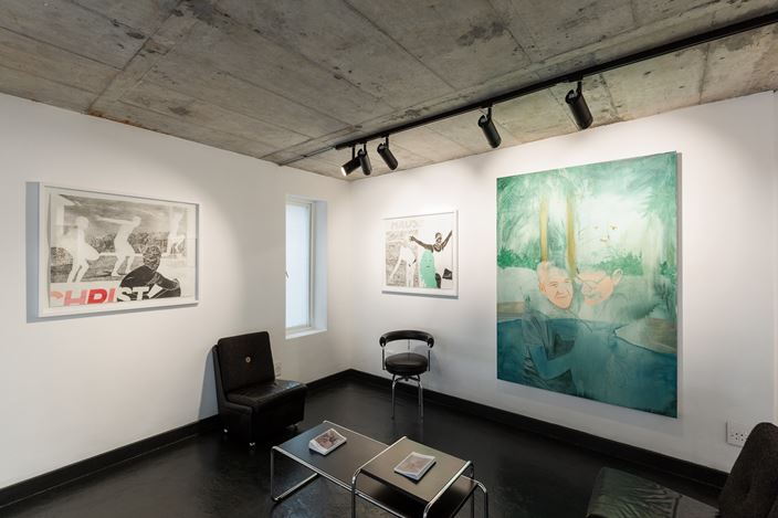 Exhibition view: Andrew Kaiser, A Moderate Bliss, THK Gallery, Cape Town (27 June–30 August 2019). Courtesy THK Gallery.