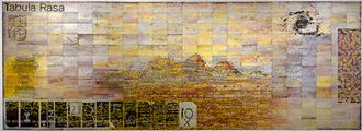Tabula Rasa (For My Father) by Imants Tillers contemporary artwork 1