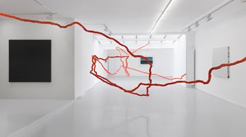 GRIMM contemporary art gallery in Frans Halsstraat, Amsterdam, Netherlands