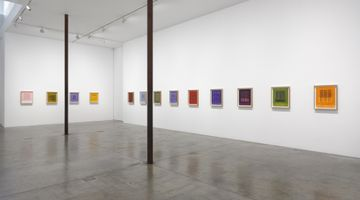 Contemporary art exhibition, Idris Khan, The Seasons Turn at Victoria Miro, Wharf Road, London
