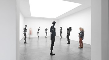 Contemporary art exhibition, Antony Gormley, LIVING ROOM at Xavier Hufkens, 6 rue St-Georges, Brussels