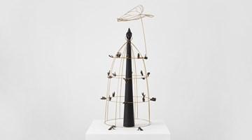 Contemporary art exhibition, Chris Ofili, Jasmine Thomas-Girvan, Affinities at David Zwirner, London, United Kingdom