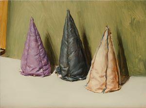 Three Cones by Michaël Borremans contemporary artwork