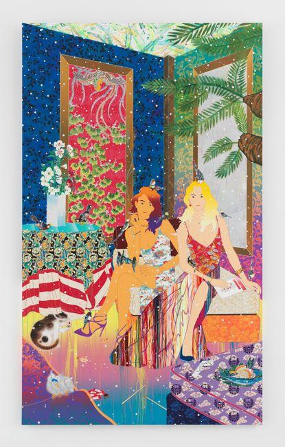 Turn Up the Happy Hour by Tomokazu Matsuyama contemporary artwork