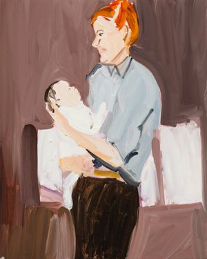 First Baby by Chantal Joffe contemporary artwork