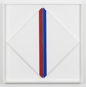 Stator rouge, bleu by Geneviève Claisse contemporary artwork