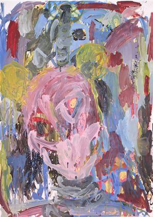 Whore's Smile by Nyasha Marovatsanga contemporary artwork