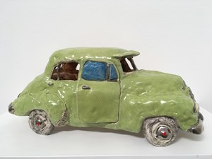 Lurline (Willow Green Holden 1971) by Margaret Dodd contemporary artwork