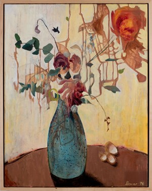 Still Life with Horse Chestnut Shells by Keith Tyson contemporary artwork