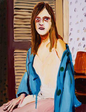 Blue Jacket by Jenni Hiltunen contemporary artwork