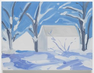 Winter Storm Connecticut by Maureen Gallace contemporary artwork
