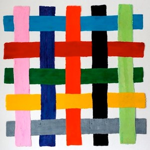 CrissCross by Harald Pompl contemporary artwork