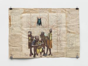 Well Well Well by Ibrahim Mahama contemporary artwork works on paper, photography, print