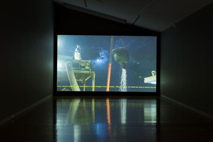 Susan Norie, Rules of Play,2016, Exhibition view, Two Rooms, Auckland. Courtesy Two Rooms, Auckland.