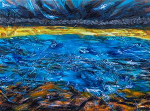 黎明的迴聲 Dawn Echo by Suling Wang contemporary artwork