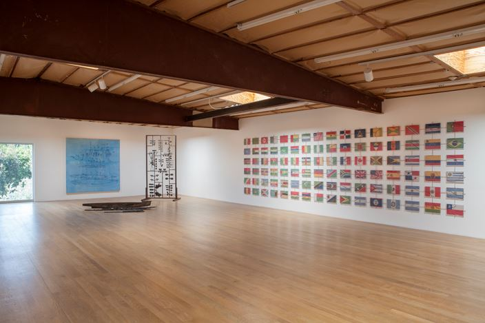 Exhibition view: Group Exhibition, Parergon: Japanese Art of the 1980s and 1990s (Part II) Curated by Mika Yoshitake, Blum & Poe, Los Angeles (6 April–19 May 2019). Courtesy the artists and Blum & Poe, Los Angeles/New York/Tokyo.