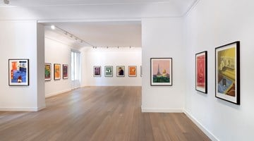 Contemporary art exhibition, David Hockney, David Hockney at Galerie Lelong & Co. Paris, 13 Rue de Téhéran, Paris