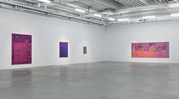 Contemporary art exhibition, John McAllister, Riot Rose Summary at Almine Rech, Brussels