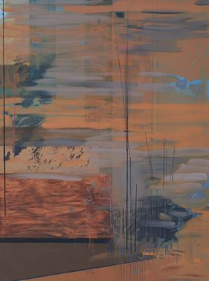 Untitled (earth displaced) by Clive Van Den Berg contemporary artwork